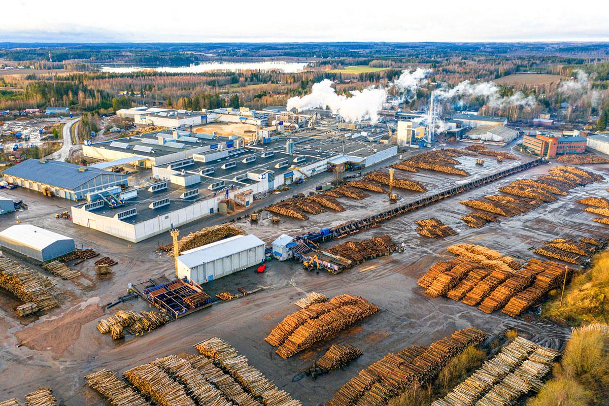Fabrikgelände Koskisen Finnland